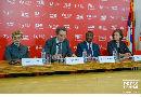 Konferencija za novinare Sirila Milera (Syril Muller), potpredsednika Svetske banke za Evropu i centralnu Aziju